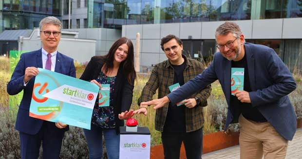 """""""startklar"""" Businessplan-Wettbewerb"""