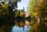 Abtei Marienmünster im Herbst © K. Krajewski, Kulturland Kreis Höxter