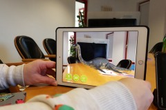 Entdeckertour Höxter App mit Augmented Reality Funktion ©Naturpark